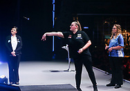 Beau Greaves during the BDO World Professional Championships at the O2 Arena, London, United Kingdom on 9 January 2020.