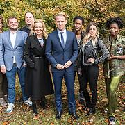 NLD/Hilversum/20161108 - Wie is de Mol 2017 perspresentatie, alle deelnemers