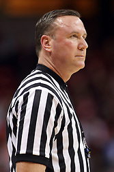 25 February 2015:   Brad Ferrie during an NCAA MVC (Missouri Valley Conference) men's basketball game between the Southern Illinois Salukis and the Illinois State Redbirds at Redbird Arena in Normal Illinois