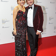 NLD/Amsterdam20151106 - Nationaal Opera Gala 2015, May-britt Mobach en partner