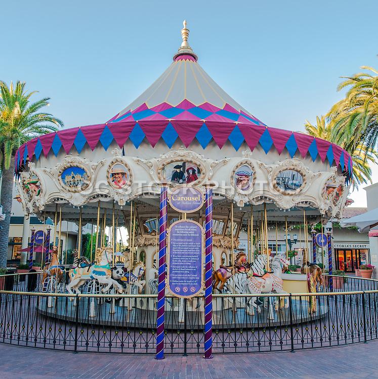 Newport Beach Carousel at Balboa Fun Zone