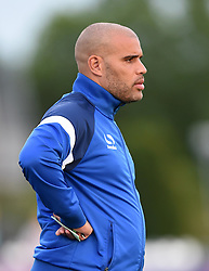 Marcus Bignot of Birmingham City Ladies - Mandatory by-line: Paul Knight/JMP - Mobile: 07966 386802 - 29/08/2015 -  FOOTBALL - Stoke Gifford Stadium - Bristol, England -  Bristol Academy Women v Birmingham City Ladies FC - FA WSL Continental Tyres Cup