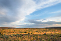 Wyoming prairie grasslands near Soda Lake, Sublette County