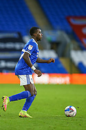 Cardiff City's Sheyi Ojo (27) in action during the EFL Sky Bet Championship match between Cardiff City and Millwall at the Cardiff City Stadium, Cardiff, Wales on 30 January 2021.