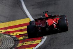 August 31, 2019, Francorchamps, Belgium: SEBASTIAN VETTEL of Scuderia Ferrari during qualifying of the Formula 1 Belgian Grand Prix at Circuit de Spa-Francorchamps in Francorchamps, Belgium. (Credit Image: © James Gasperotti/ZUMA Wire)
