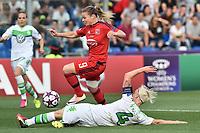 Eugenie Le Sommer Lyon, Nila Fischer Wolfsburg <br /> Reggio Emilia 26-05-2016 <br /> Wolfsburg - Lyon <br /> Women's Champions League Final . Foto Andrea Staccioli / Insidefoto