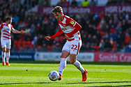 Kieran Sadlier of Doncaster Rovers (22) in action during the EFL Sky Bet League 1 match between Doncaster Rovers and Coventry City at the Keepmoat Stadium, Doncaster, England on 4 May 2019.