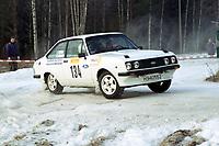 Motorsport, Rally Solør 2000. RStig Terje Rosenvold / Ronny Tomtsveen. NAF Gjøvik Jr. Ford Escort RS 2000 kl. 12.  Foto: Digitalsport, Jan A. Holshagen