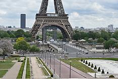 43rd Day Of Lockdown - Paris 8 May 2020