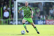 Forest Green Rovers Carl Winchester(7) on the ball during the EFL Sky Bet League 2 match between Forest Green Rovers and Colchester United at the New Lawn, Forest Green, United Kingdom on 14 September 2019.