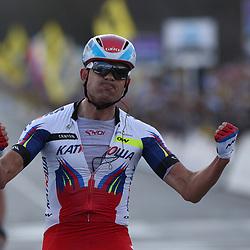 OUDENAARDE (BEL) wielrennen<br /> De Noor Alexander Kristoff wint de 99e ronde van VLaanderne voor Niki Terpstra <br /> <br /> --NOVUM COPYRIGHT SPORTFOTO PHOTOAGENCY--