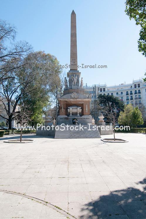 Monument to Fallen Heroes (Monumento a los Caídos por España), Plaza de la Lealtad, Madrid, Spain