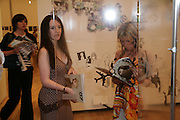 EMMA PEARCE AND EMMA DURNELL,  London College of Fashion catwalk show. Royal Academy of Arts, 6 Burlington Gardens. London. 31 May 2007. -DO NOT ARCHIVE-© Copyright Photograph by Dafydd Jones. 248 Clapham Rd. London SW9 0PZ. Tel 0207 820 0771. www.dafjones.com.