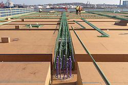 Boathouse at Canal Dock Phase II   State Project #92-570/92-674 Construction Progress Photo Documentation No. 05 on 17 November 2016. Image No. 19