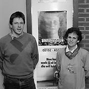 Bert Kamsteeg en mederwerkster oprichter van Slachtofferhulp politie het Gooi