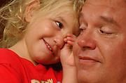 John Focht and his toddler daughter Elli Rose Focht.