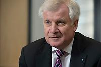 14 FEB 2014, BERLIN/GERMANY:<br /> Horst Seehofer, CSU, Ministerpraesident Bayern, waehrend einem Interview, Interviewraum, Bundesratsgebaeude<br /> IMAGE: 20140214-01-028