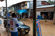 Huepetuhe is a city that was formed due to mining activity, here you can buy all type of tools, equipment and products for mining in the Peruvian Amazon.