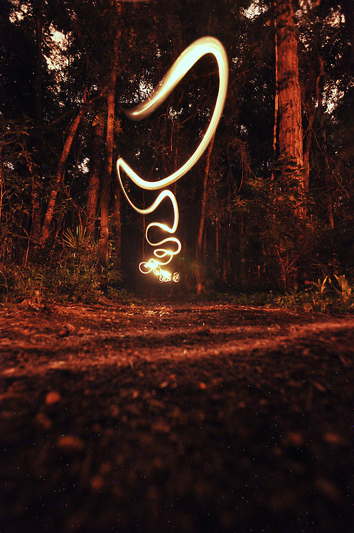 Painting with light in Northern Florida. Tallahassee, FL.