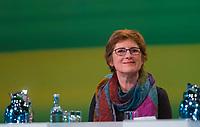 DEU, Deutschland, Germany, Leipzig, 10.11.2018: Britta Haßelmann, Parlamentarische Geschäftsführerin von BÜNDNIS 90/DIE GRÜNEN. Bundesparteitag von BÜNDNIS 90/DIE GRÜNEN, Messe Leipzig. Auf dem Parteitag wurden die KandidatInnen für die Europawahl im Mai 2019 gewählt.