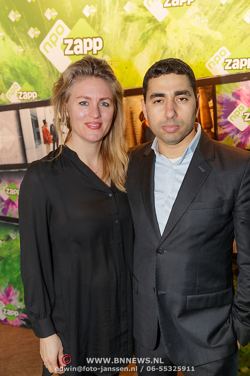 NLD/Amsterdam/20190206- Telefims 2019 premiere, Katrien van Beurden en partner Mimoun Oaïssa