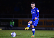 Stuart O'Keefe of Portsmouth in action. EFL Skybet Football League one match, Northampton Town v Portsmouth at the Sixfields Stadium in Northampton on Tuesday 12th September 2017. <br /> pic by Bradley Collyer, Andrew Orchard sports photography.