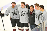 Greater Cleveland High School Hockey League All-Star Game at Rocket Mortgage FieldHouse in Cleveland.