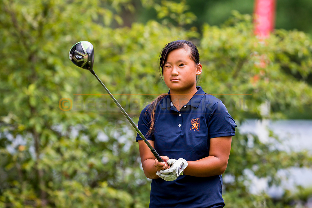 20-07-2019 Pictures of the final day of the Zwitserleven Dutch Junior Open at the Toxandria Golf Club in The Netherlands.<br /> KORTHUIJS, Sophie