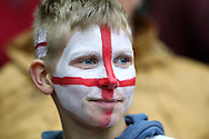 a England fan  looking on . FIFA World cup qualifying match, european group F, England v Malta at Wembley Stadium in London on Saturday 8th October 2016.<br /> pic by John Patrick Fletcher, Andrew Orchard sports photography.