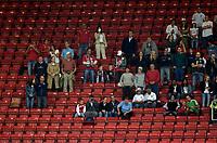 Photo: Jed Wee.<br /> England v Greece. International Friendly. 16/08/2006.<br /> <br /> Fans in a half empty Old Trafford.