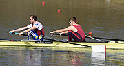 Caversham  Great Britain.<br /> left, Peter Chambers and Joel CASSELLS.<br /> 2016 GBR Rowing Team Olympic Trials GBR Rowing Training Centre, Nr Reading  England.<br /> <br /> Tuesday  22/03/2016 <br /> <br /> [Mandatory Credit; Peter Spurrier/Intersport-images]