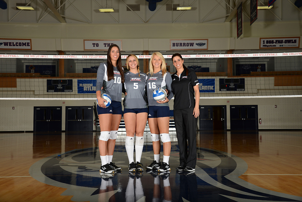 2013 FAU Volleyball Photo Day