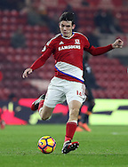 Marten de Roon of Middlesbrough during the English Premier League match at Riverside Stadium, Middlesbrough. Picture date: December 5th, 2016. Pic Jamie Tyerman/Sportimage