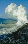 Hawaiian lava flow from Kiluea volcano
