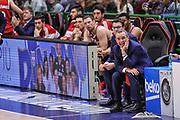 DESCRIZIONE : Campionato 2014/15 Dinamo Banco di Sardegna Sassari - Openjobmetis Varese<br /> GIOCATORE : Ugo Ducarello<br /> CATEGORIA : Allenatore Coach<br /> SQUADRA : Openjobmetis Varese<br /> EVENTO : LegaBasket Serie A Beko 2014/2015<br /> GARA : Dinamo Banco di Sardegna Sassari - Openjobmetis Varese<br /> DATA : 19/04/2015<br /> SPORT : Pallacanestro <br /> AUTORE : Agenzia Ciamillo-Castoria/L.Canu<br /> Predefinita :