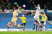 Burton's Jon McLaughlin (1) punches clear a cross during the EFL Sky Bet Championship match between Leeds United and Burton Albion at Elland Road, Leeds, England on 29 October 2016. Photo by Richard Holmes.