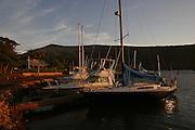 Sunrise, Manele Harbor, Lanai, Hawaii<br />