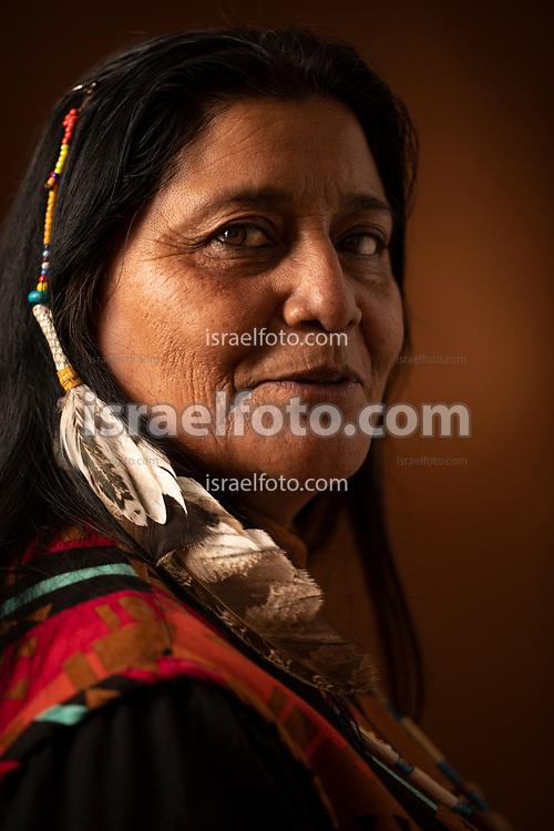 Norma Alicia Meza Calles, activista del pueblo kumiai