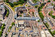 Nederland, Utrecht, Amersfoort, 29-05-2019; overzicht van binnenstad Amersfoort met Sint Jorisplein en Stadhuisplein.<br /> Overview of city center Amersfoort.<br /> luchtfoto (toeslag op standard tarieven);<br /> aerial photo (additional fee required);<br /> copyright foto/photo Siebe Swart