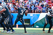 January 31 2016: Team Irvin Jameis Winston throws a pass during the Pro Bowl at Aloha Stadium on Oahu, HI. (Photo by Aric Becker/Icon Sportswire)