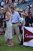 Prince Harry and Alice Ferguson, Cartier International Polo. Guards Polo Club. Windsor Great Park. 30 July 2006. ONE TIME USE ONLY - DO NOT ARCHIVE  © Copyright Photograph by Dafydd Jones 66 Stockwell Park Rd. London SW9 0DA Tel 020 7733 0108 www.dafjones.com