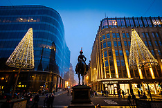 Christmas Sunday, Glasgow, 23 December 2018