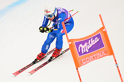 January 19, 2018 - Cortina D'Ampezzo, Dolimites, Italy - Nicol Delago of Italy competes  during the Downhill race at the Cortina d'Ampezzo FIS World Cup in Cortina d'Ampezzo, Italy on January 19, 2018. (Credit Image: © Rok Rakun/Pacific Press via ZUMA Wire)