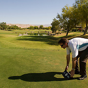 """Mike O'Leary is the """"do all"""" guy on the Golden State Golf Tour and is responsible for scoring, rules, setting up tee boxes and everything in between."""