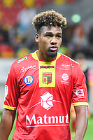 Dorian Caddy  during the French Ligue 2 match between Quevilly Rouen and Bourg en Bresse on 11th August 2017<br />Photo by Philippe le Brech / Icon Sport