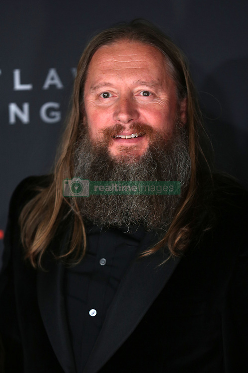 Director David Mackenzie at the Scottish premiere of Outlaw King at the Vue Omni in Edinburgh.