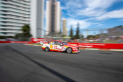 October 19, 2018 - Gold Coast, QLD, U.S. - GOLD COAST, QLD - OCTOBER 19: Alexandre Premat in the Shell V-Power Racing Team Ford Falcon during Friday practice at The 2018 Vodafone Supercar Gold Coast 600 in Queensland on October 19, 2018. (Photo by Speed Media/Icon Sportswire) (Credit Image: © Speed Media/Icon SMI via ZUMA Press)