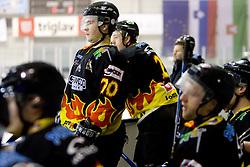 Igor Angelovski of Slavija at SLOHOKEJ league ice hockey match between HK Slavija and HK Triglav Kranj, on February 3, 2010 in Arena Zalog, Ljubljana, Slovenia. Triglaw won 4:1. (Photo by Vid Ponikvar / Sportida)
