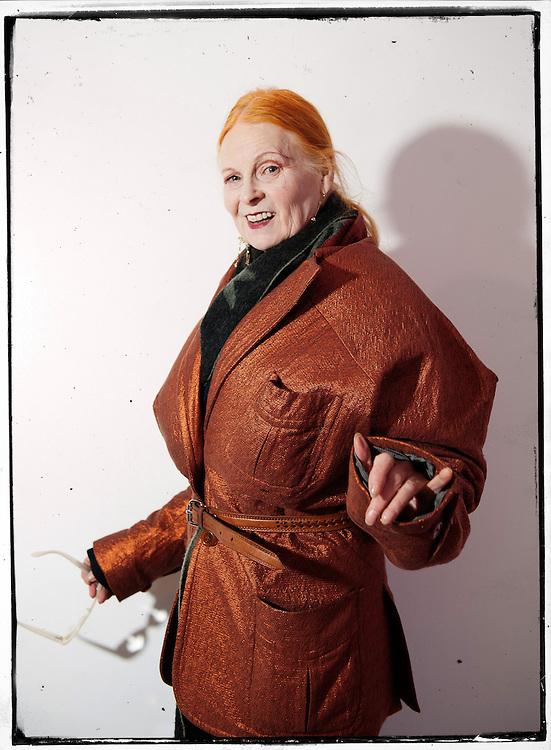 Dame Vivienne Westwood.
