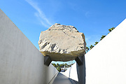 Michael Heizer's Levitated Mass Sculpture